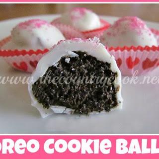 Oreo Cookie Balls.