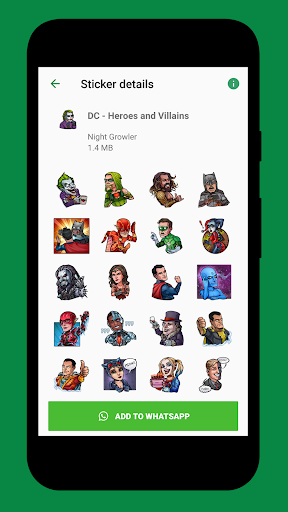 Screenshot for WA Stickers Geek in Hong Kong Play Store