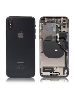 iPhone X Housing with small parts Original Pulled Space Gray