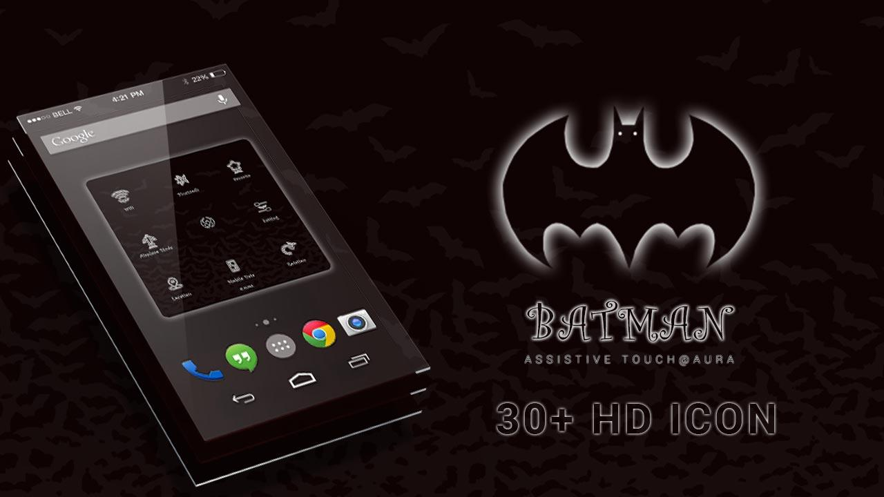 Gmail batman theme - Assistive Touch Batman Theme Screenshot