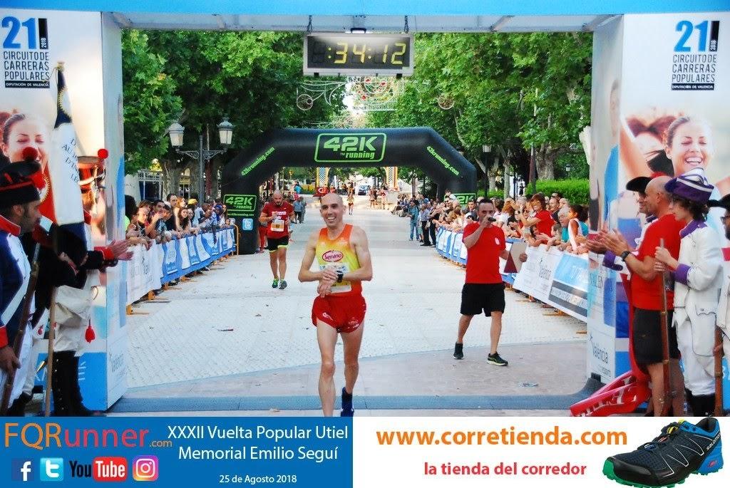 atleta de Alboraya LUIS FÉLIX MARTÍNEZ GÓMEZ del Serrano Club Atletismo