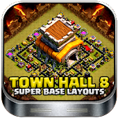 Town Hall 8 Base Layouts 2017