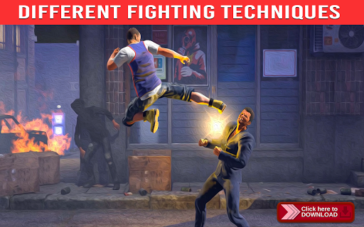 Kung Fu Street Fight: Epic Battle Fighting Games 1.1 screenshots 1