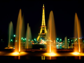 Photo: Paris fountains