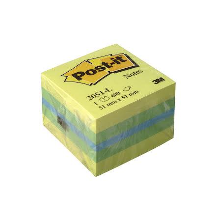 Post-it minikub 51x51 lemon