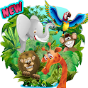 brain games animals for kids icon