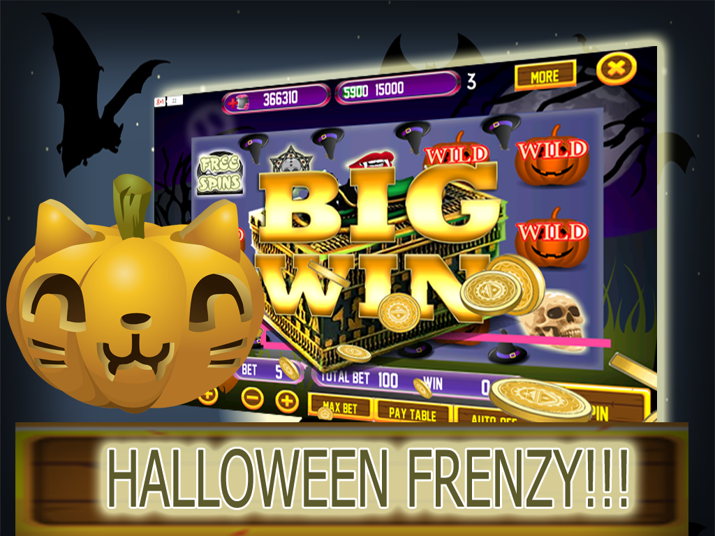 Halloween Night Slot Machine - Play Real Casino Slots Online