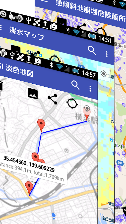 GSI Map++- screenshot