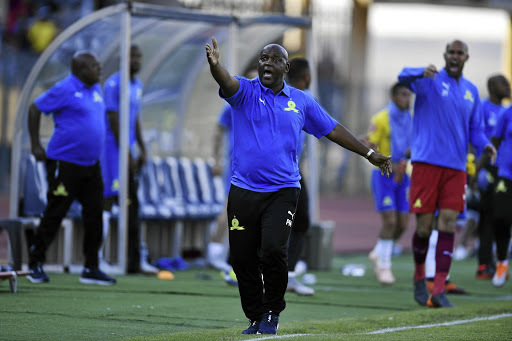 Pitso Mosimane of Sundowns faces a DC over an incident involving a security guard.