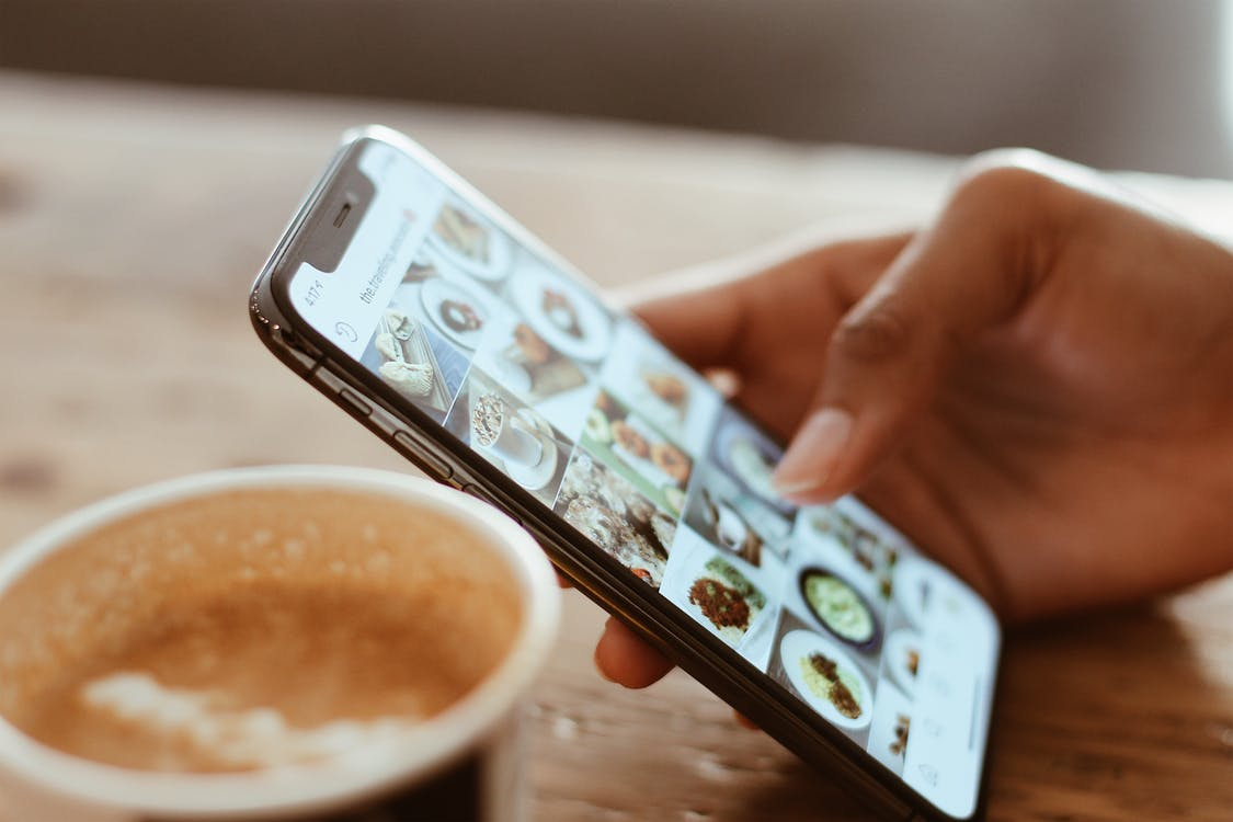 Koffie telefoon