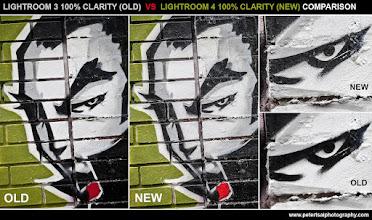 Photo: Lightroom 3 Clarity vs Lightroom 4 Clarity - Artwork by Mr. Totem of Tats Cru / Burn Unit