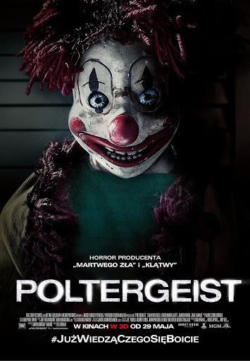 Polski plakat filmu 'Poltergeist'
