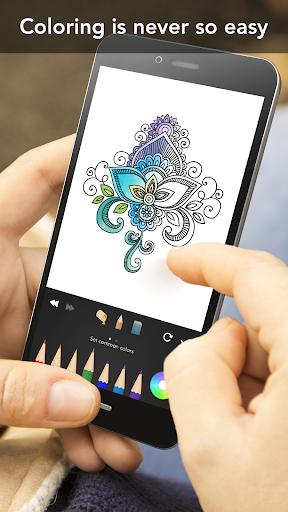 Mandala Coloring Book 3.1.4 screenshots 4