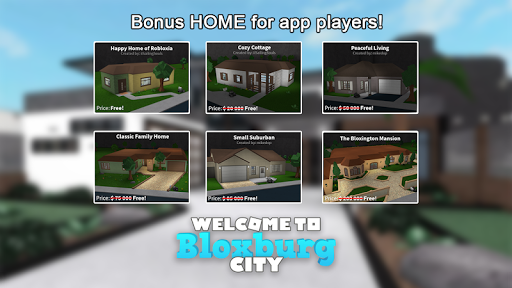 PC u7528 Bloxburg City - Free RBX 1