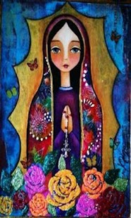 Virgen De Guadalupe Dibujo Hermoso - náhled