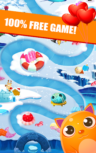 Toons Toy Blast Crush puzzles-pop the cubes  screenshots 3