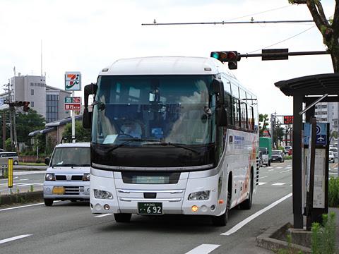 大分バス「やまびこ号」 ・692 益城インター口にて
