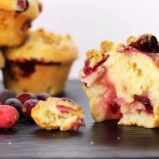 Buttermilk Cranberry Muffins.