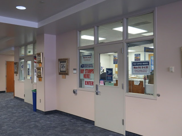 Brigham Young University post office/CPU