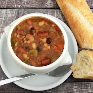 Janetta's Vegetarian 15-Bean Soup.