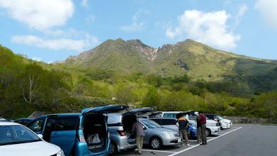 Photo: 峠の茶屋から朝日岳