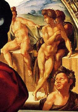 Article about Michelangelo's The Holy Family