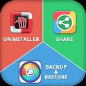 Backup, Share & Uninstaller icon