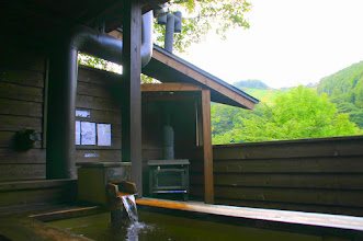 Photo: 露天風呂は温泉です