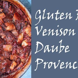 Gluten Free Venison Daube Provencal