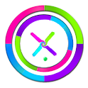 penetrate colored shapes icon