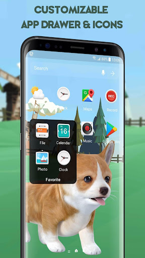 3D Cute Puppies Animated Live Wallpaper