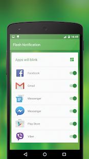 Flash Notification screenshot