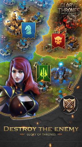 Glory of Thrones: War of Conquest 1.0.4 screenshots 3