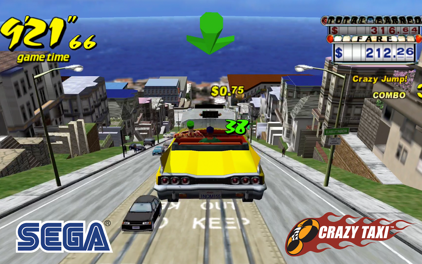 Crazy Taxi Classic- screenshot