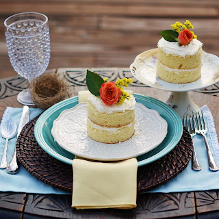 Easy Naked Mini Cakes Recipe