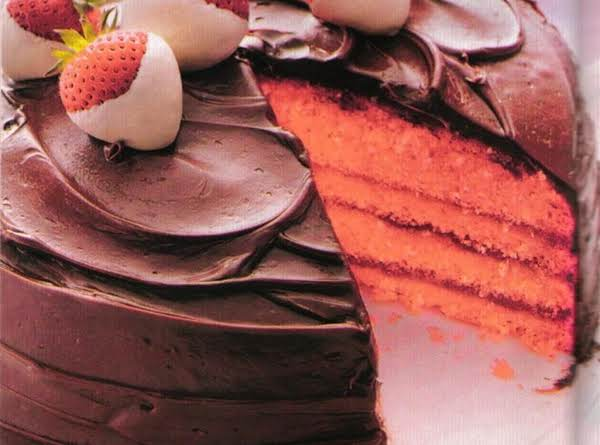 Chocolate-covered Strawberry Cake Recipe