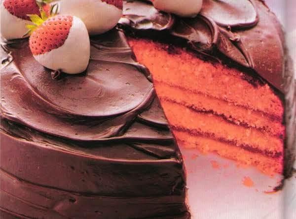 Chocolate-covered Strawberry Cake