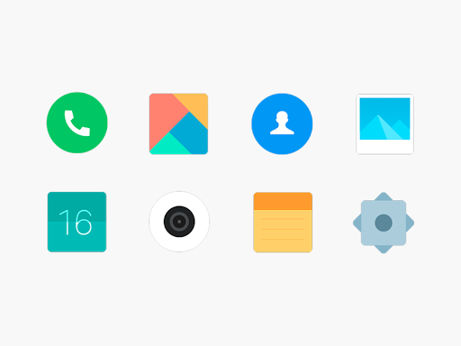 MIUI 9 icon pack - free Icon Pack 3.6.5 screenshots 1