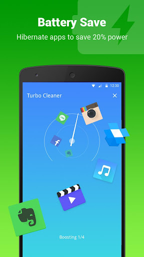 Turbo Cleaner - Boost, Clean screenshot 4