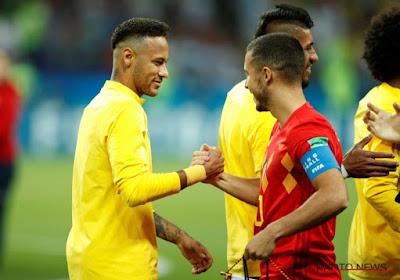 Neymar souhaiterait jouer avec un Diable Rouge !