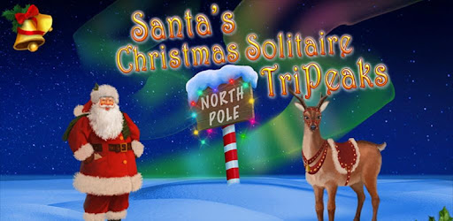 Christmas Solitaire.Santa S Christmas Solitaire Tripeaks Apps On Google Play