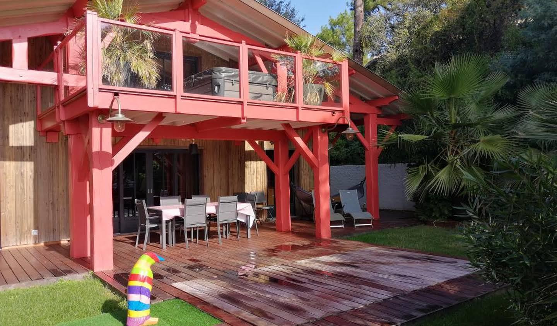 Maison avec piscine en bord de mer Lege-cap-ferret