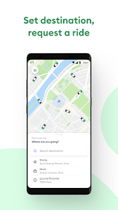 Bolt (formerly Taxify) CA.5.67 Mod + Data for Android 1
