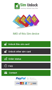 SIM Unlock Mobile Phone- screenshot thumbnail