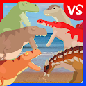 T-Rex Fights Dinosaurs icon