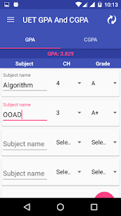 Gpa cgpa calculator for uet izinhlelo ze android ku google play gpa cgpa calculator for uet isithombe esincane sesithombe skrini ccuart Image collections