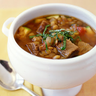 Italian Beef and Lentil Slow-Cooker Stew.