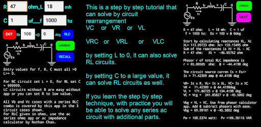 AC Series Circuits - Apps on Google Play