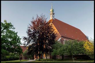 Photo: Die Klosterkirche in Preetz wurde im 13. Jahrhundert errichtet. Elise Roder, geboren in Pohnsdorf bei Preetz i.H. wurde am 7. Februar 1792 in Preetz getauft. In alten Urkunden wird Elise als Präbendistin bezeichnet.