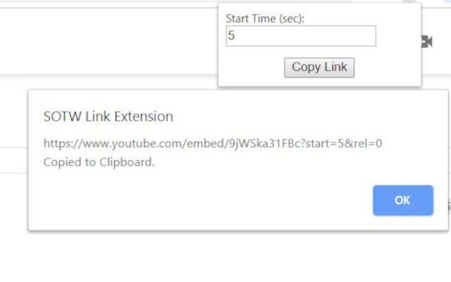 SOTW Link Extension